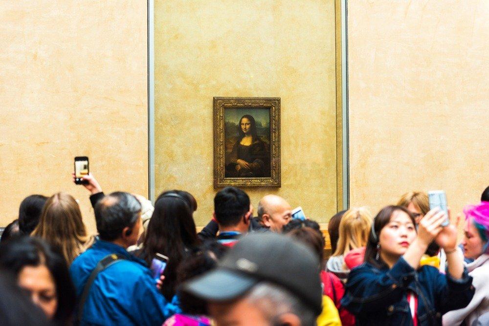 Monalisa no Louvre
