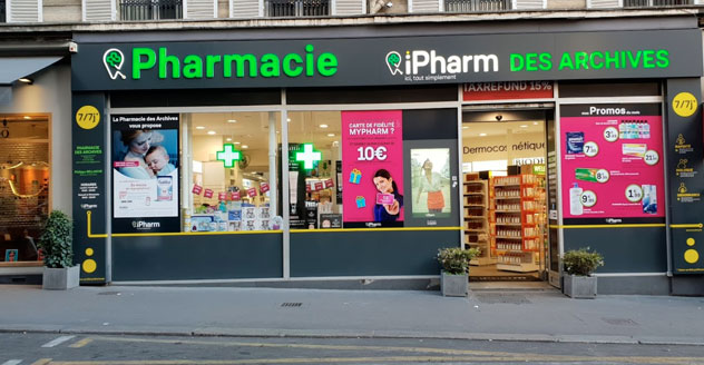 Pharmacie des Archives Paris